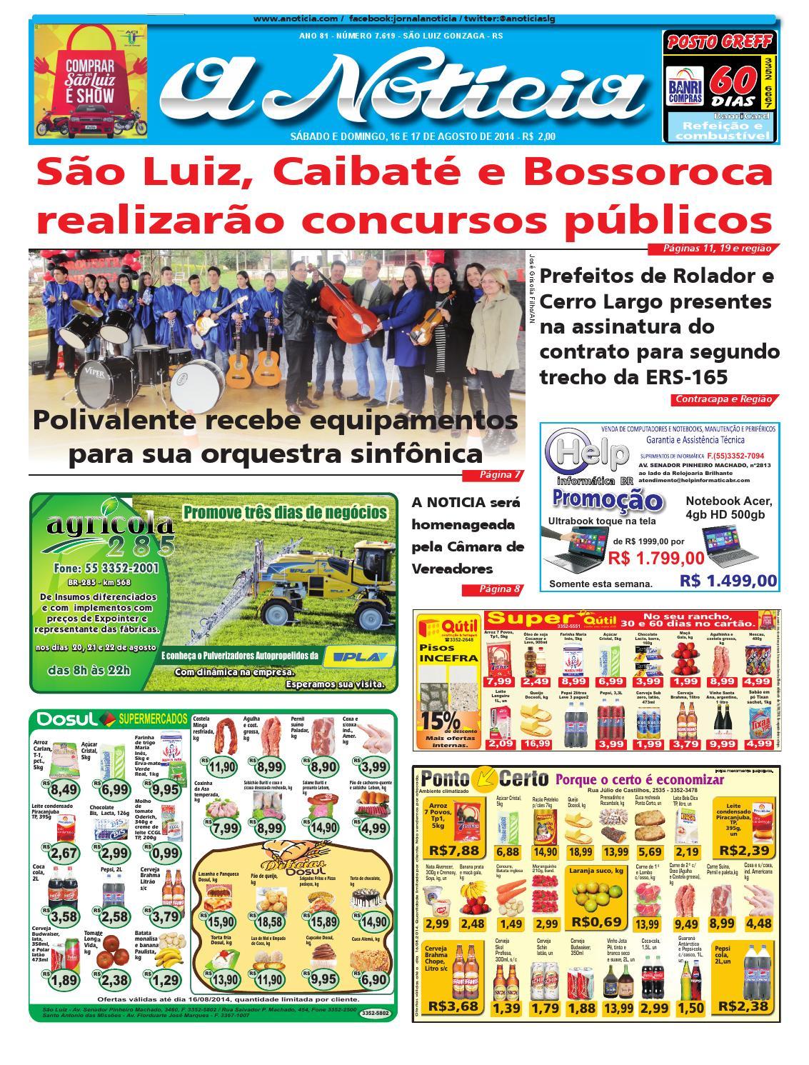 03ce81abca Edição de 16 e 17 de agosto de 2014 by Jornal A Notícia - issuu