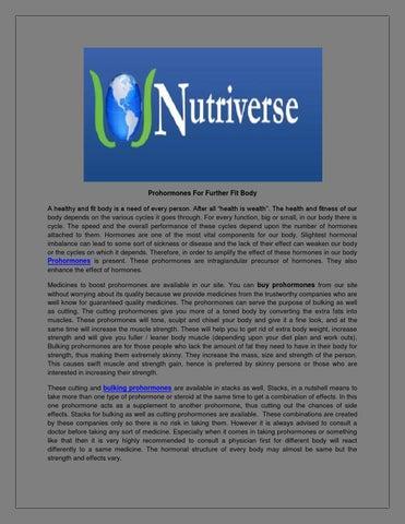 Prohormone supplements by Nichole Marisol - issuu