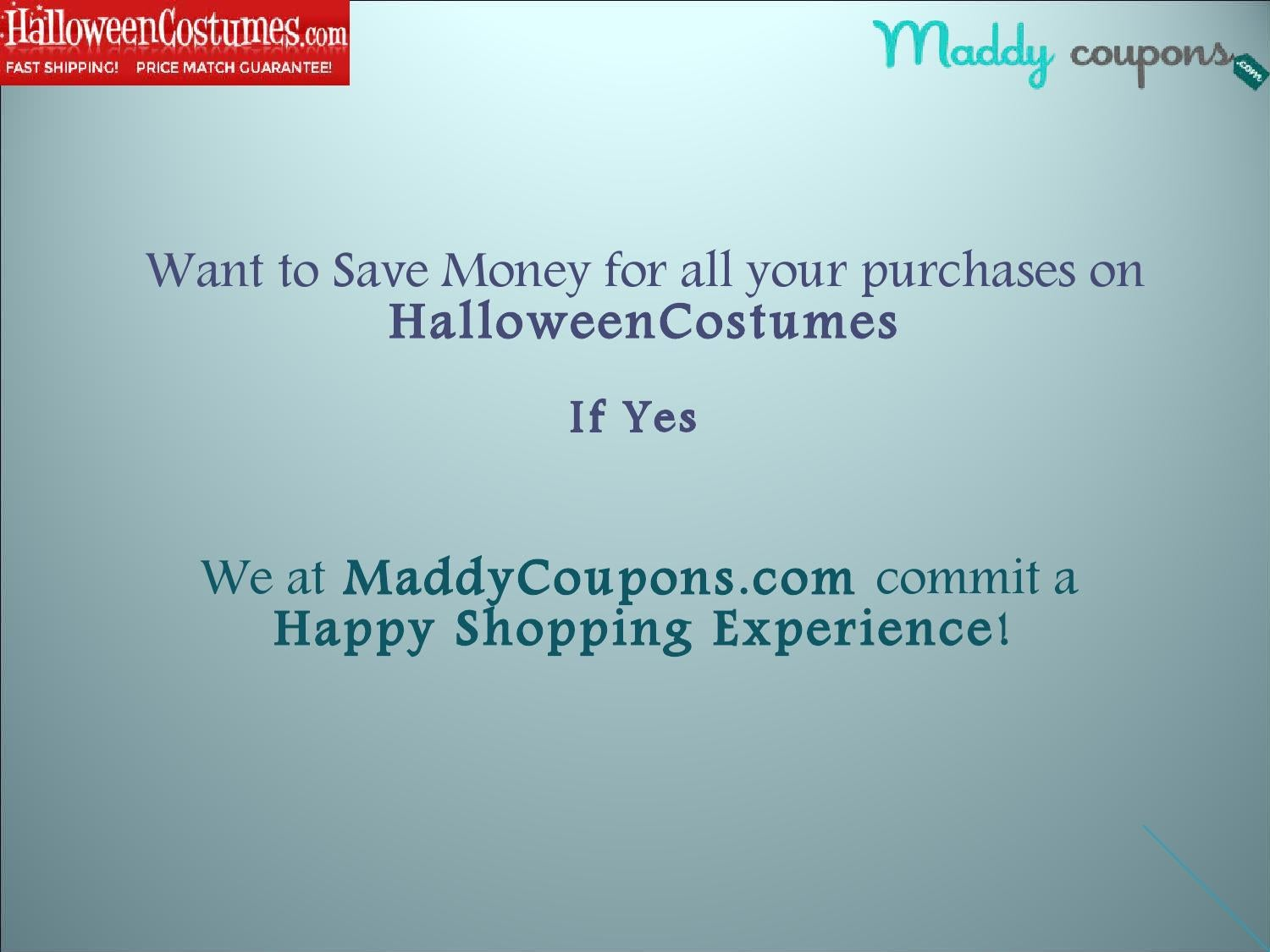 Halloweencostumes com coupon code