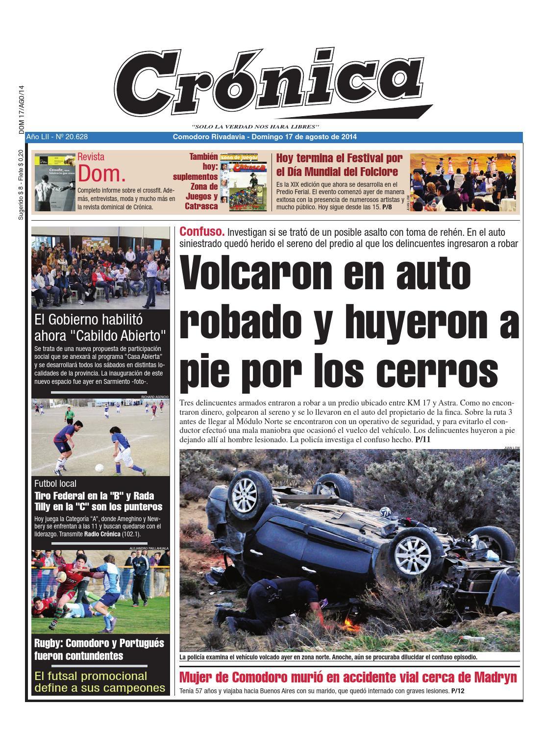 Db203b3ace9c5e70e681d57be5c495f9 By Diario Cr Nica Issuu # Muebles Doblecinco
