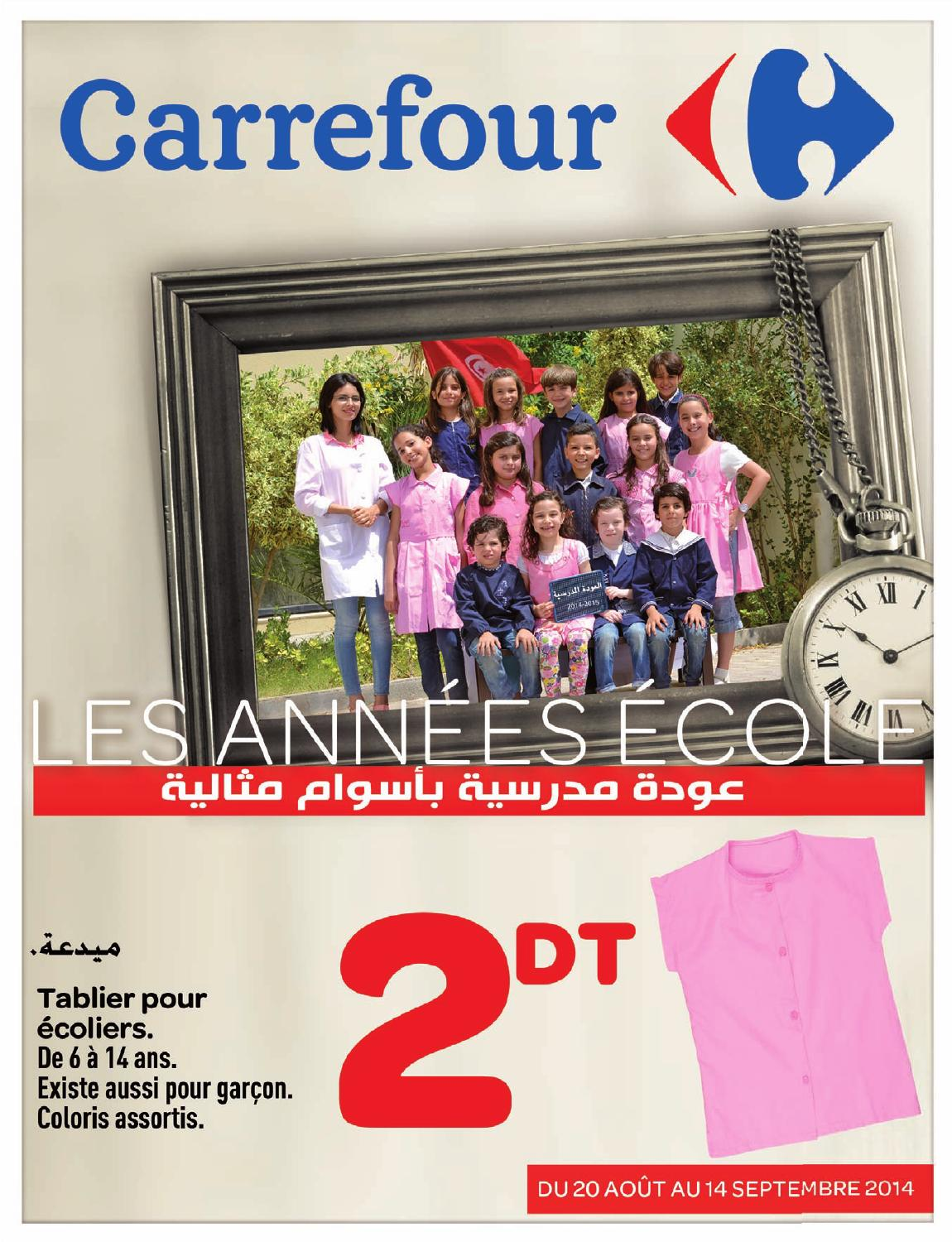 catalogue carrefour rentr e scolaire 2014 suite by carrefour tunisie issuu. Black Bedroom Furniture Sets. Home Design Ideas