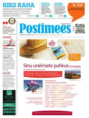 9cc66ab05ea Postimees 18 08 2014 by Postimees - issuu