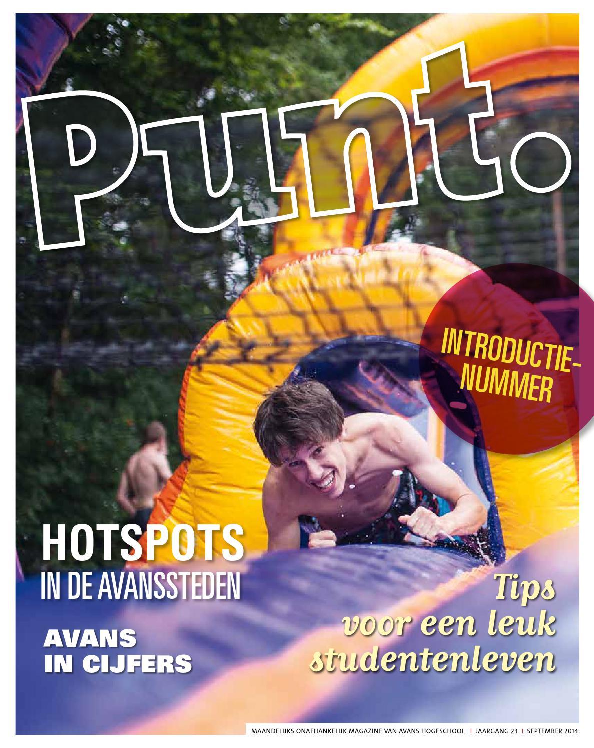 Punt Introductienummer 2014 By Punt Avans Issuu