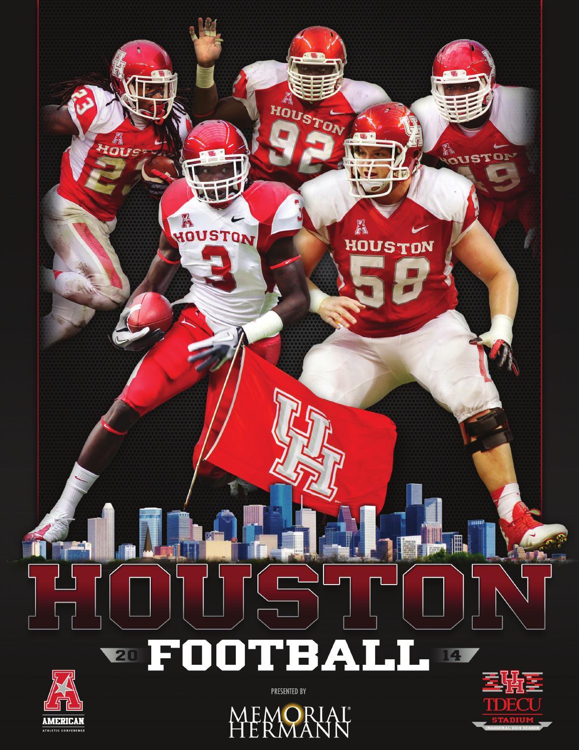 Cameron Malveaux Houston Cougars Football Jersey - White