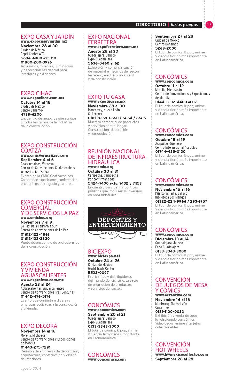 Ferias y Expos by Periódico Reforma Suplementos Especiales - issuu 3f6372f95ee7