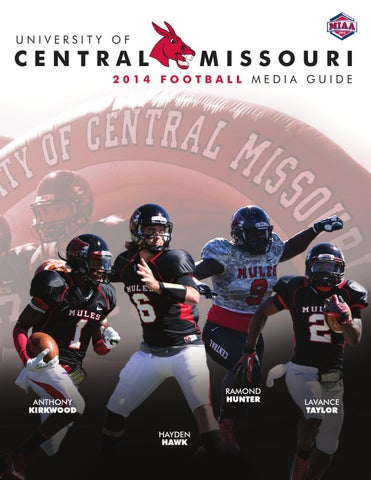 9c54684676d 2014 Central Missouri Mules Football Media Guide by UCM Athletics ...