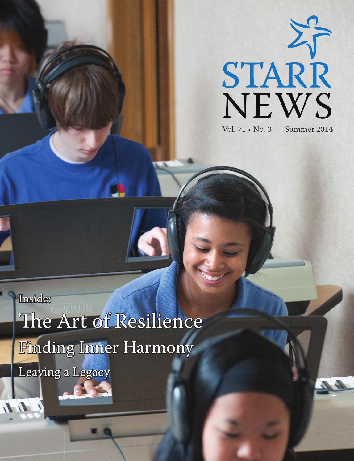 Starr News Summer 2014 By Starr Commonwealth Issuu
