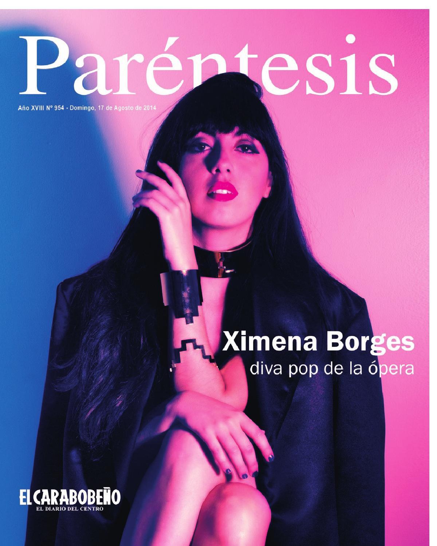ximena borges diva pop de la 243pera by revista par233ntesis