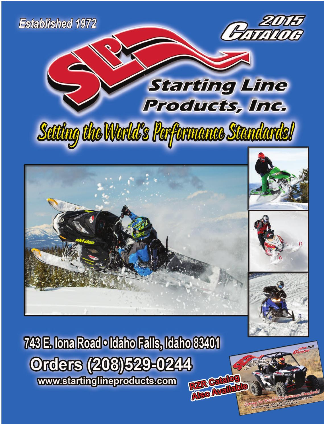 2015 catalog by Starting Line Products - issuu