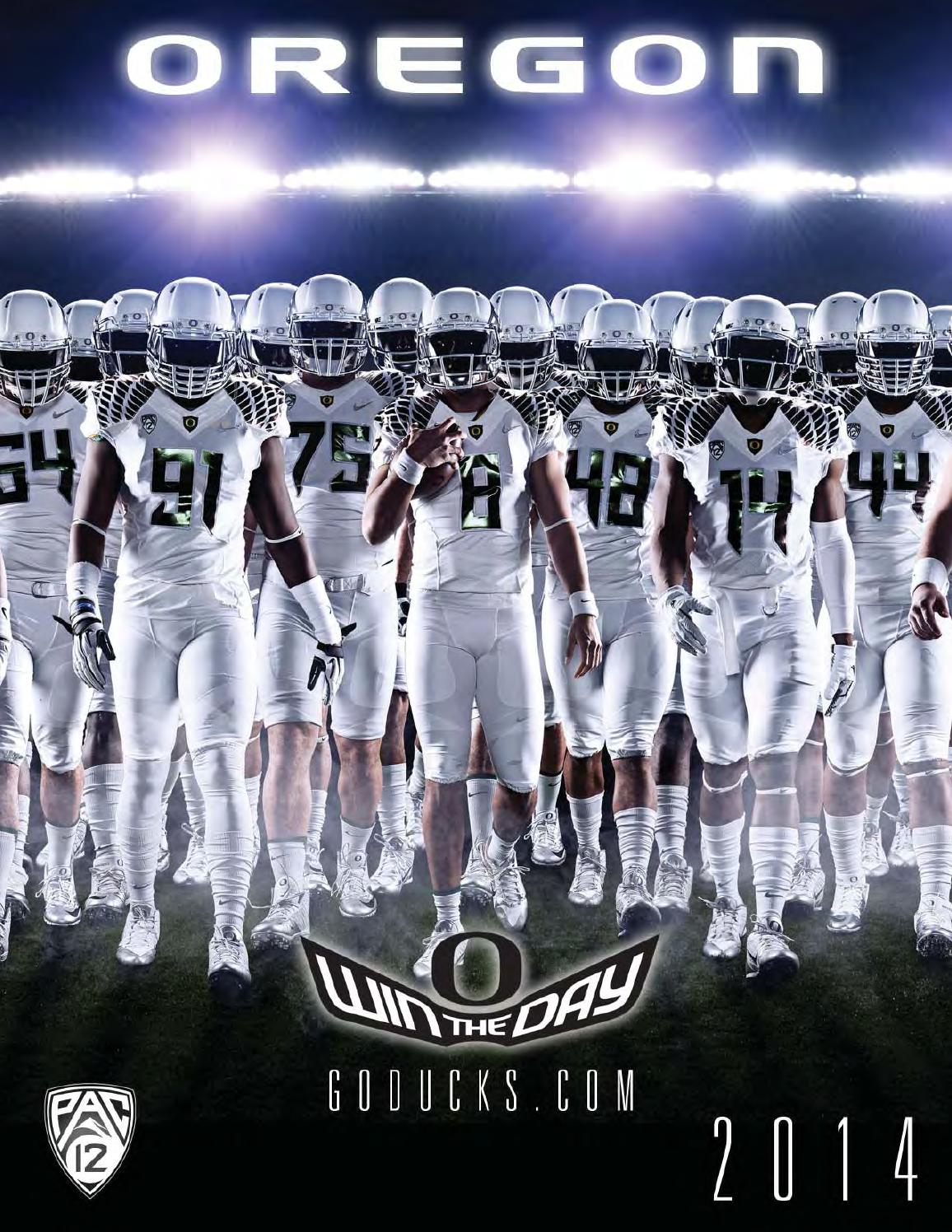 various colors 8fd65 c97fd 2014 Oregon Football Almanac by University of Oregon Athleti