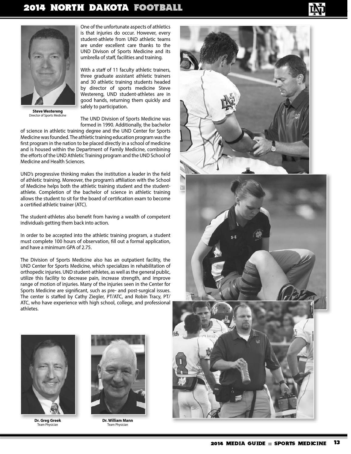2014 UND Football Media Guide by University of North Dakota