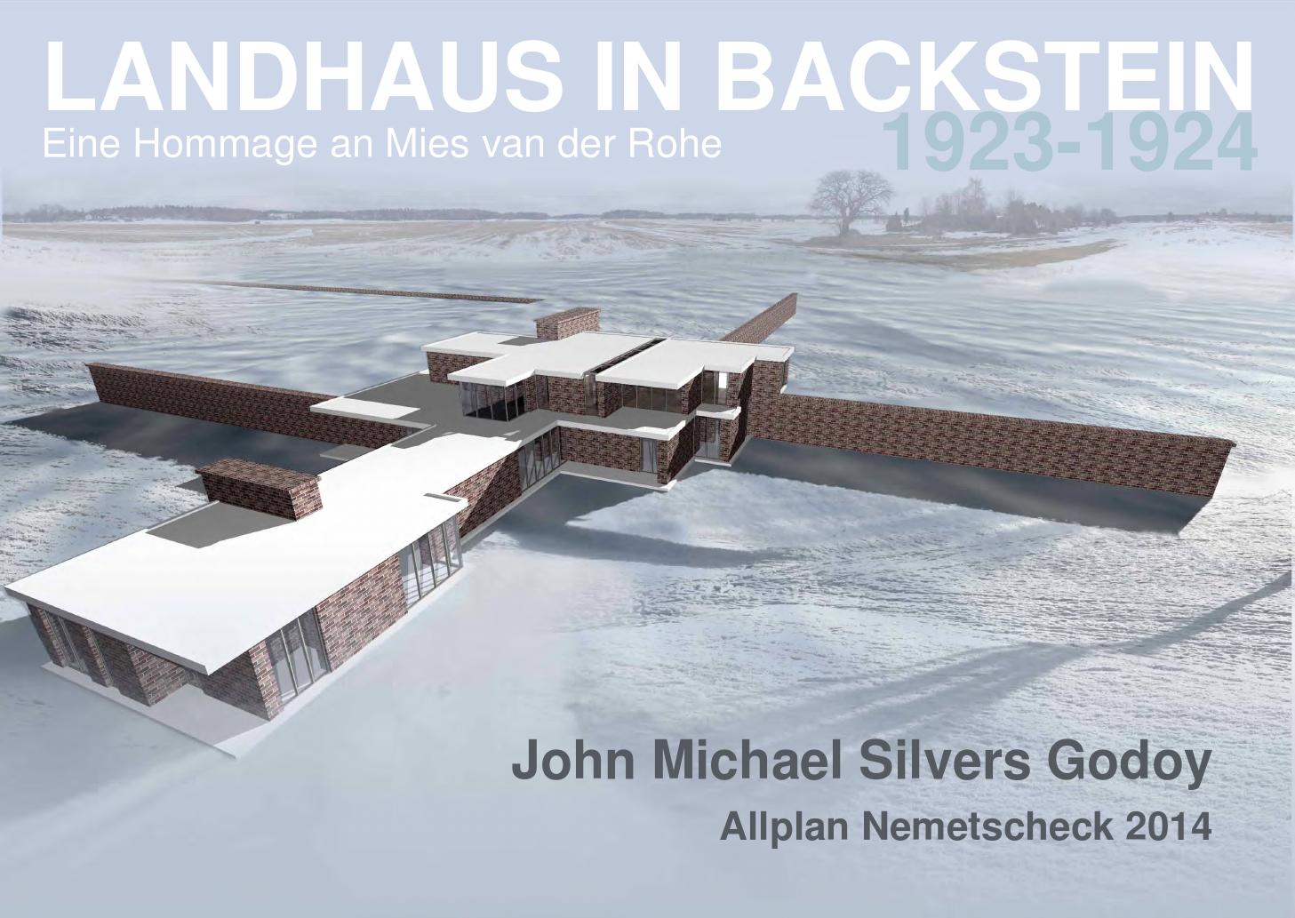 landhaus in backstein 1924 by michael silvers by michael silvers issuu. Black Bedroom Furniture Sets. Home Design Ideas