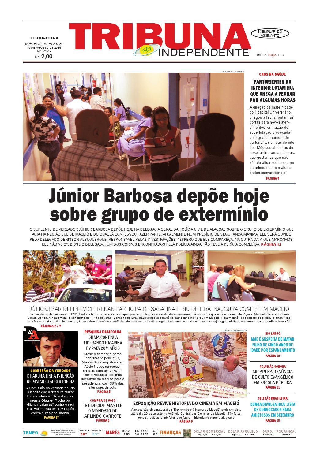 Edição número 2125 - 19 de agosto de 2014 by Tribuna Hoje - issuu f315685eb0f