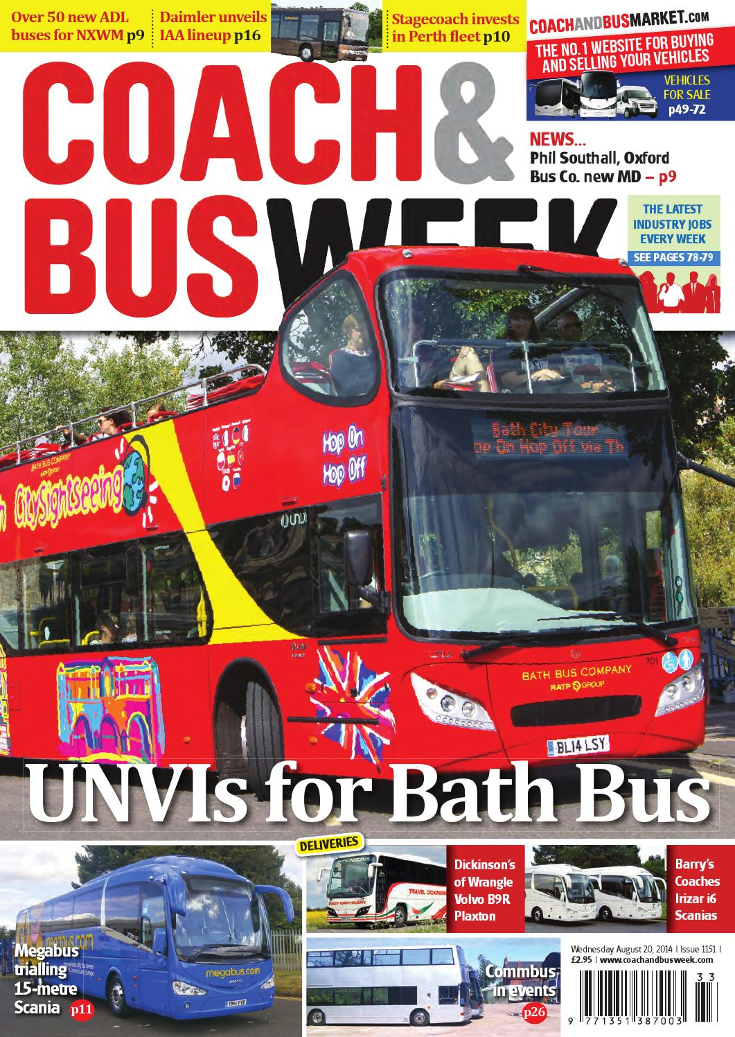 Coach Bus Week Issue 1151 By And Group Travel Volvo B7r Wiring Diagram World Issuu