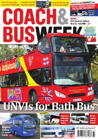 989f5ac36d Coach   Bus Week   Issue 1151 by Coach and Bus Week   Group Travel ...