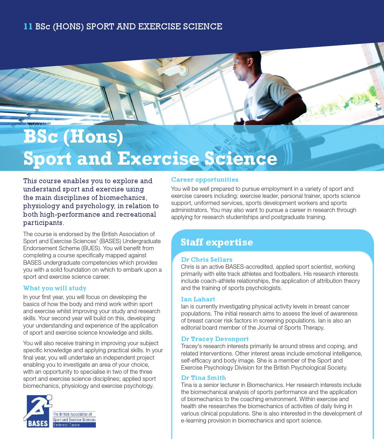Institute of Sport Guide by University of Wolverhampton - issuu