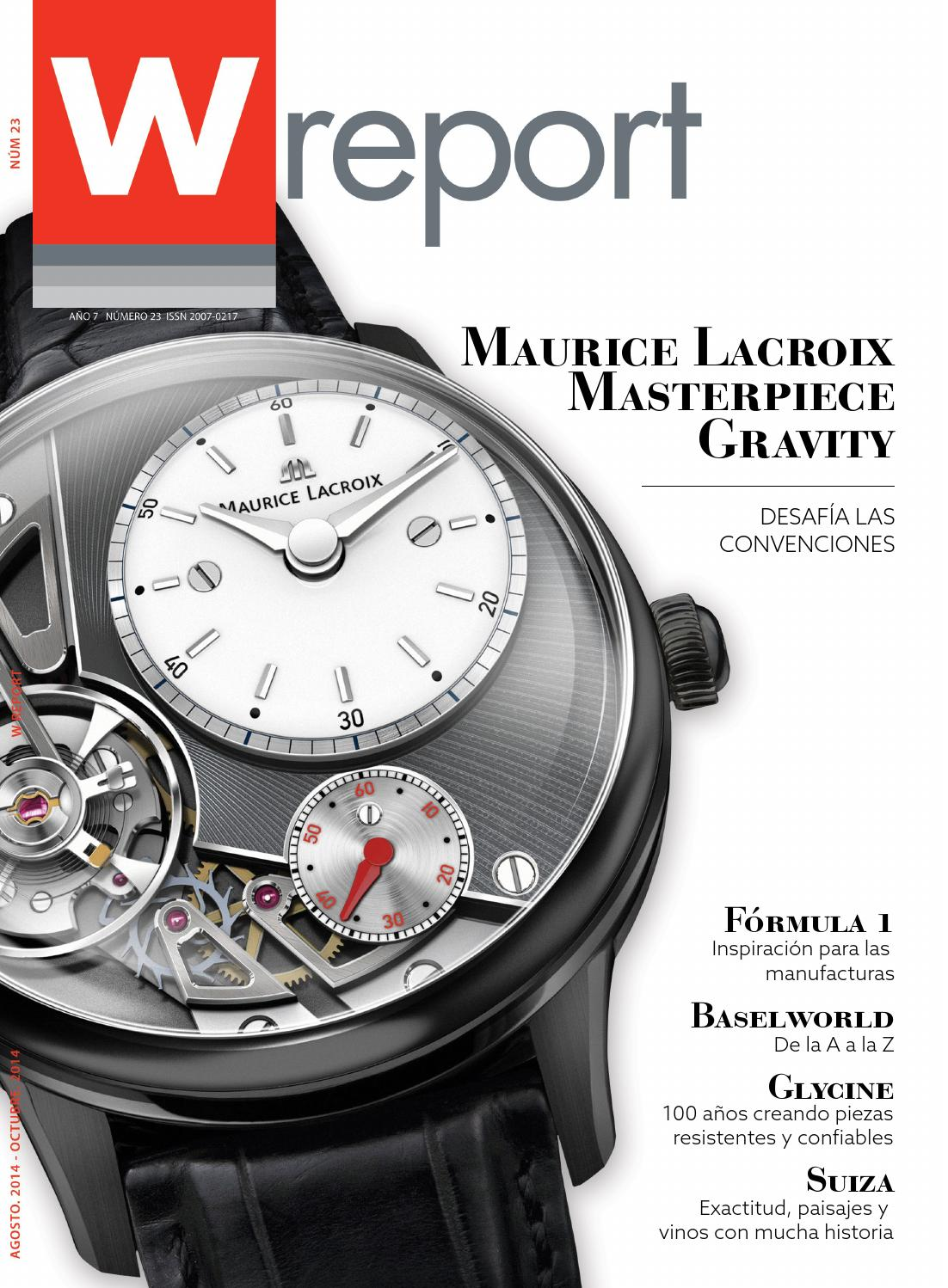 Wreport 23 by Swiss Time Group by WReport - issuu 9cad3e42a837