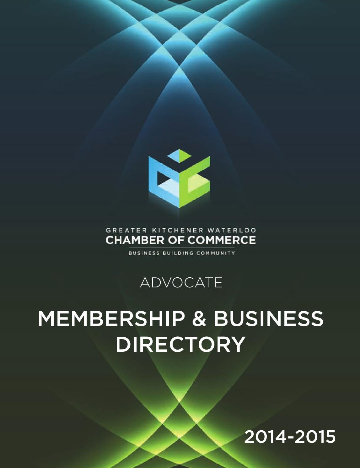 Small Business Centre Kitchener 2014 Membership Business Directory By Tina Geisel Issuu