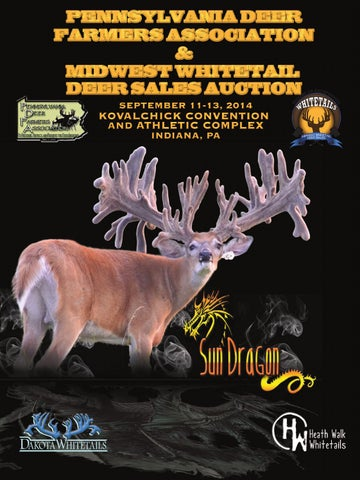 PDFA Fall Whitetail Deer Auction Sale by VMG Publishing - issuu