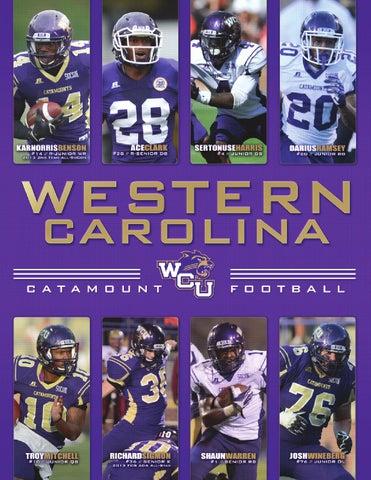 2014 Western Carolina Football Yearbook by Western Carolina