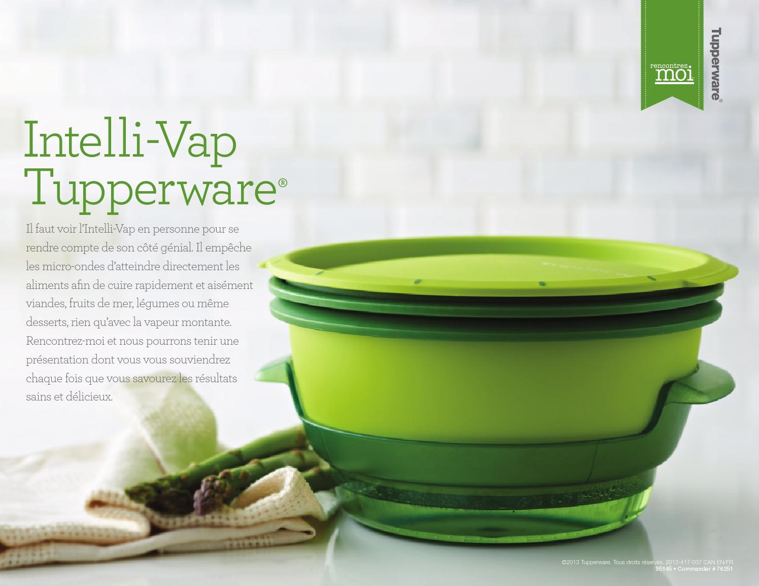 Rencontrez moi intelli vap tupperware by manon crevier - Plat micro onde tupperware ...