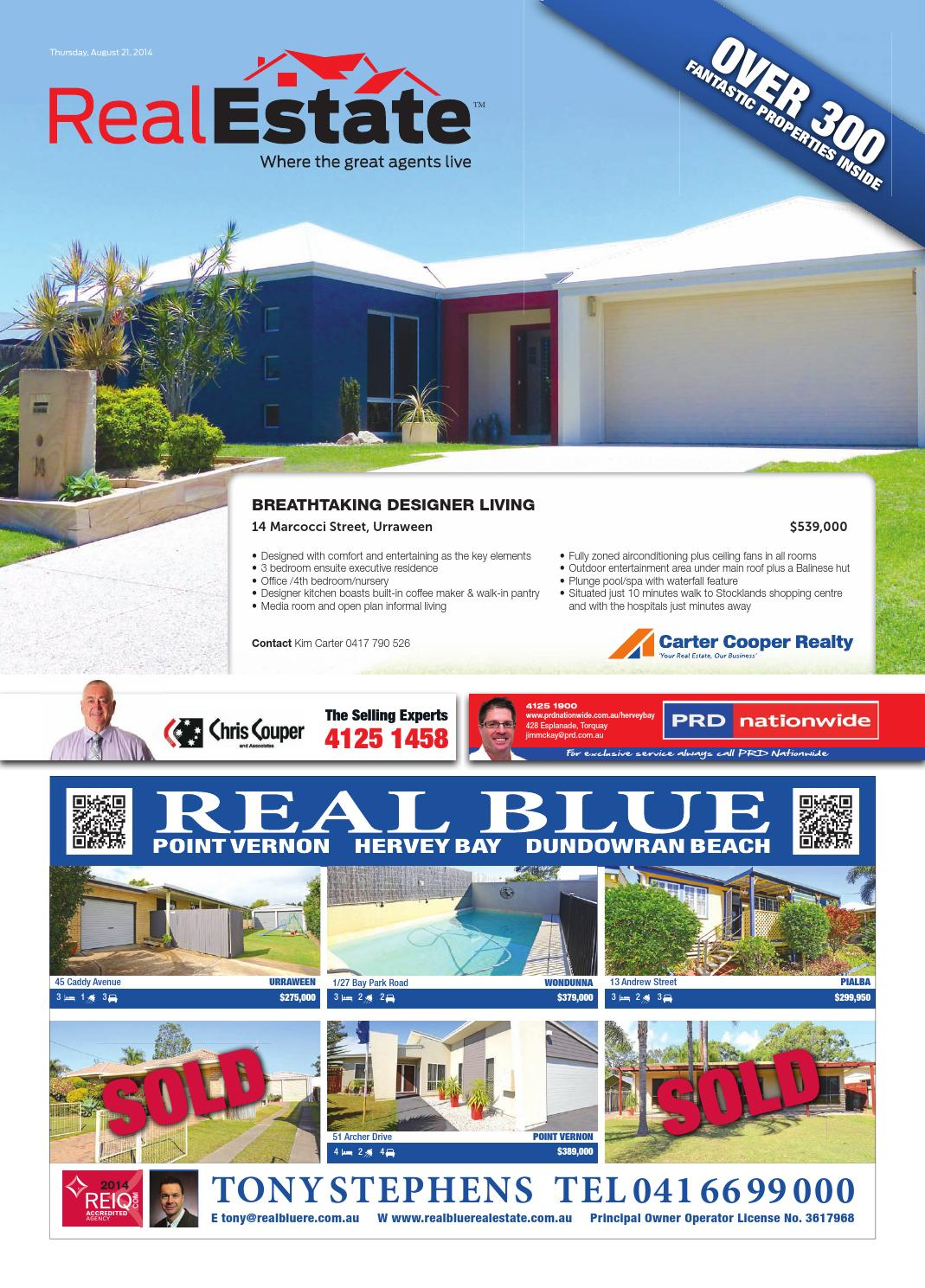 Real Estate 21 August 2014 By Hervey Bay Independent