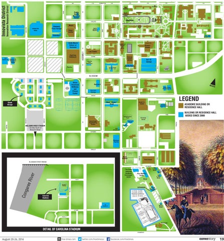 University Of La Verne Campus Map By Sprosenko Issuu