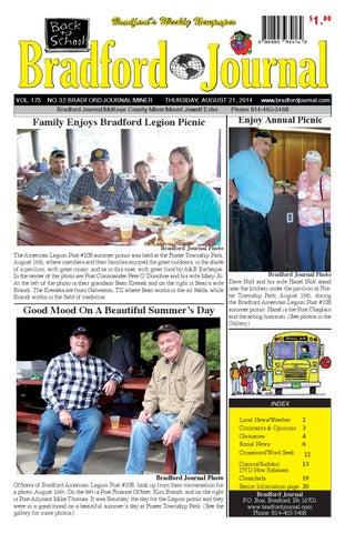 Bradfordjournalcolorissue8 21 14 by bradford journal issuu 100 bradfords weekly newpaper solutioingenieria Image collections