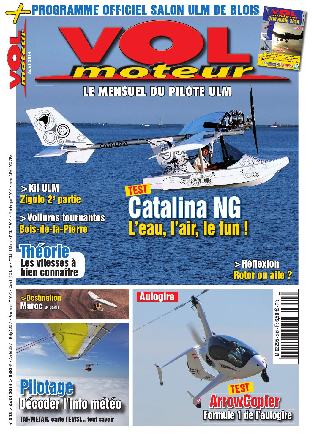 Vol moteur ao t 2014 by infos a ro issuu for Salon ulm blois