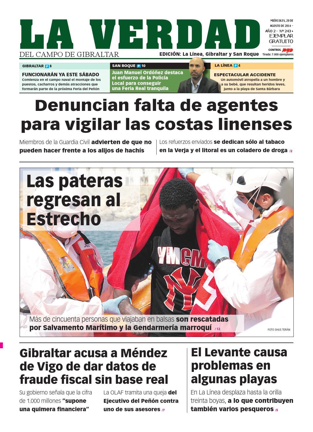 La verdad la linea 20 agosto by La Verdad del Campo de Gibraltar - issuu
