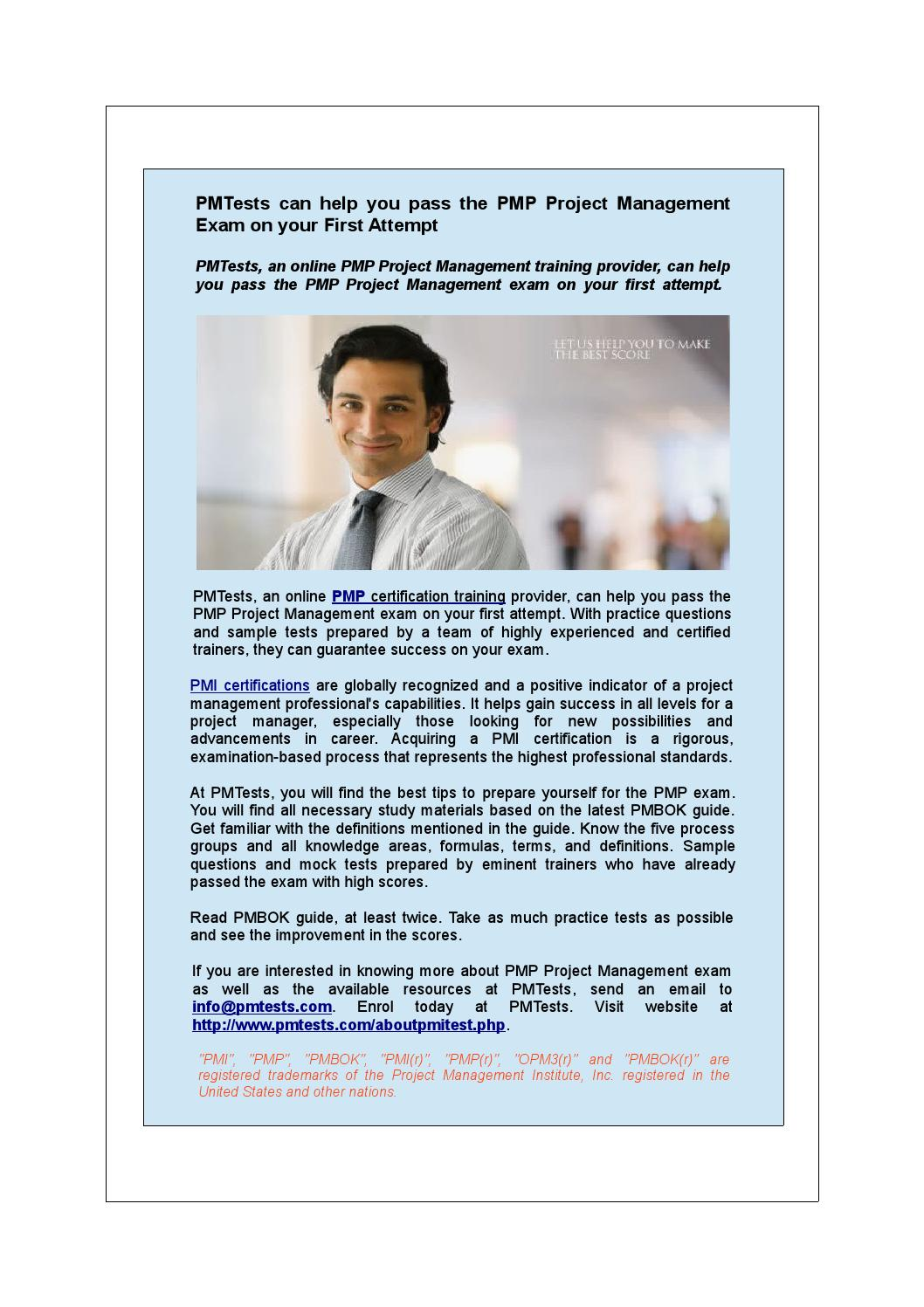 Pmtests can help you pass the pmp project management exam on your pmtests can help you pass the pmp project management exam on your first attempt by pmtests issuu 1betcityfo Choice Image