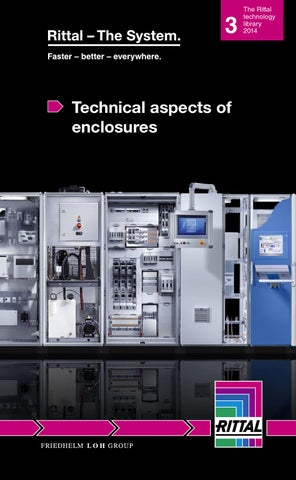 Technical Aspects Of Enclosures By Rittal Es Issuu
