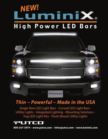 Putco 8770HF Luminix LED Light Bar Remote Kit