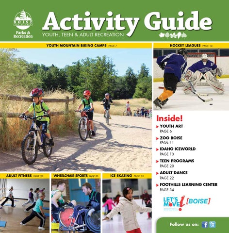Boise Parks   Recreation Fall 2014 Activity Guide by Boise Parks and ... 48ec7396d