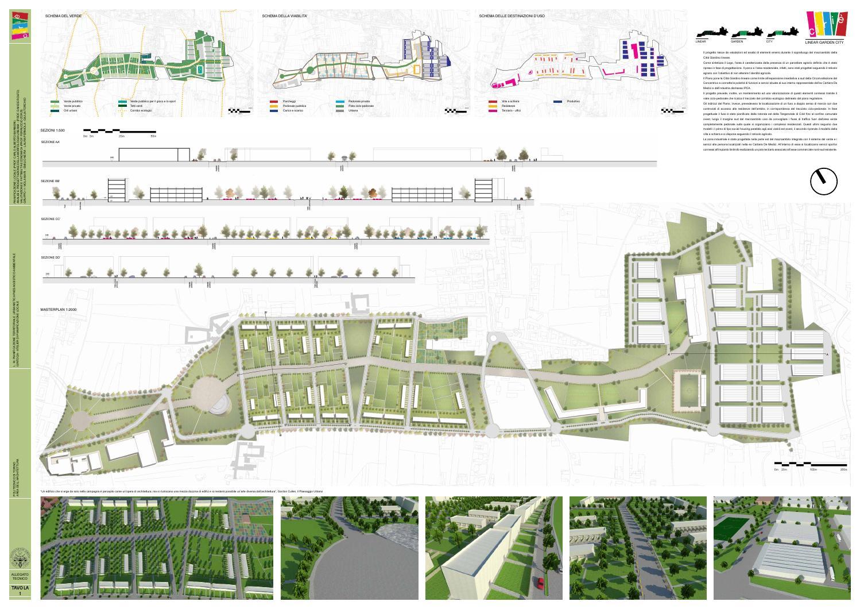 Variante strutturale ciri allegati tecnici linear garden - Tavole di concorso architettura ...