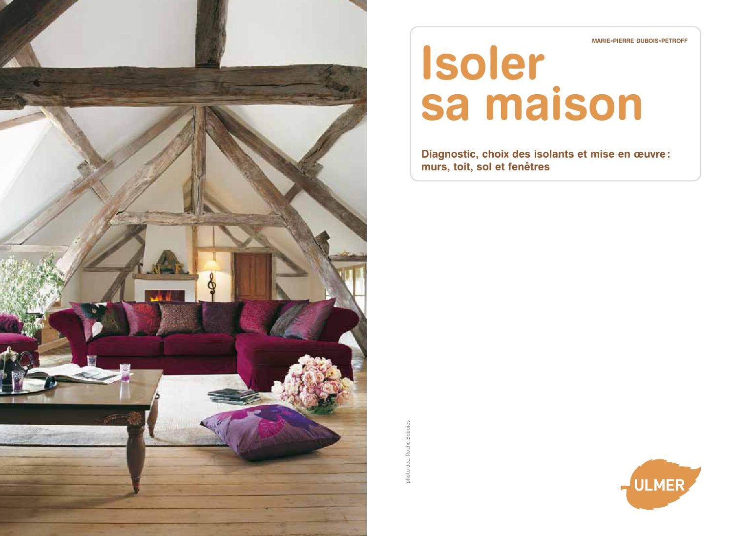 extrait isoler sa maison ditions ulmer by ditions ulmer issuu. Black Bedroom Furniture Sets. Home Design Ideas
