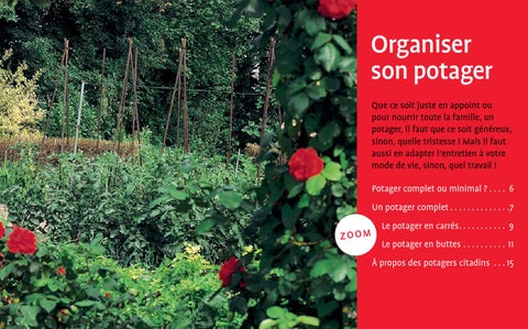 Extrait le potager au naturel ditions ulmer by ditions for Organiser son jardin potager