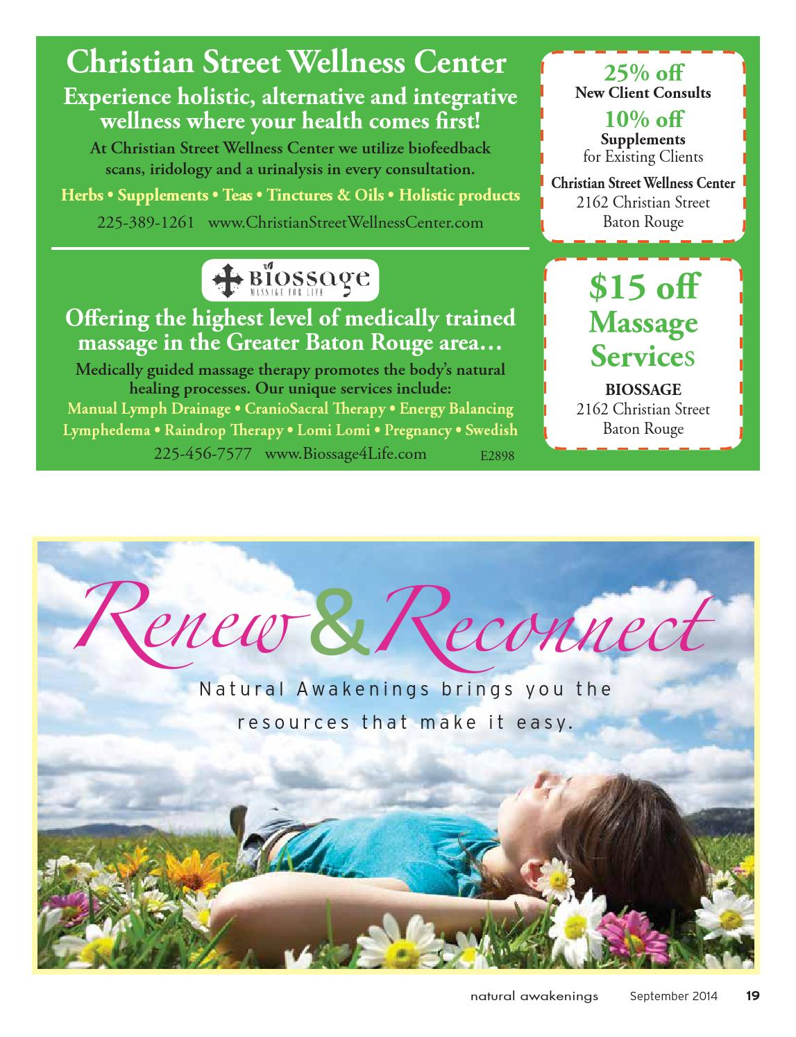 Center for holistic herbal therapy - Natural Awakenings Of Greater Baton Rouge By Natural Awakenings Of Greater Baton Rouge Issuu