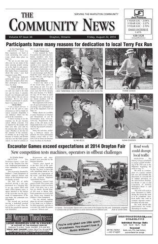 Drayton Community News August 22 2014 By Wha Publications Ltd Issuu