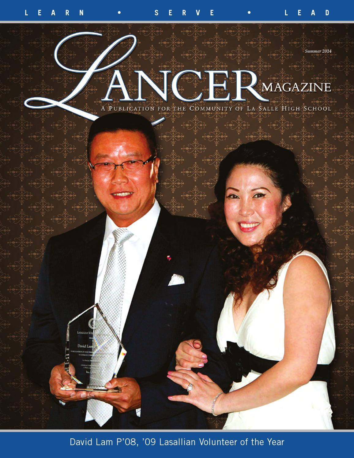 b4b90b1b754 Summer 2014 Lancer Magazine by La Salle College Preparatory - issuu
