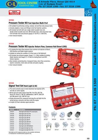 Toledo Catalogue c&l by C&L Tool Centre Pty Ltd - issuu