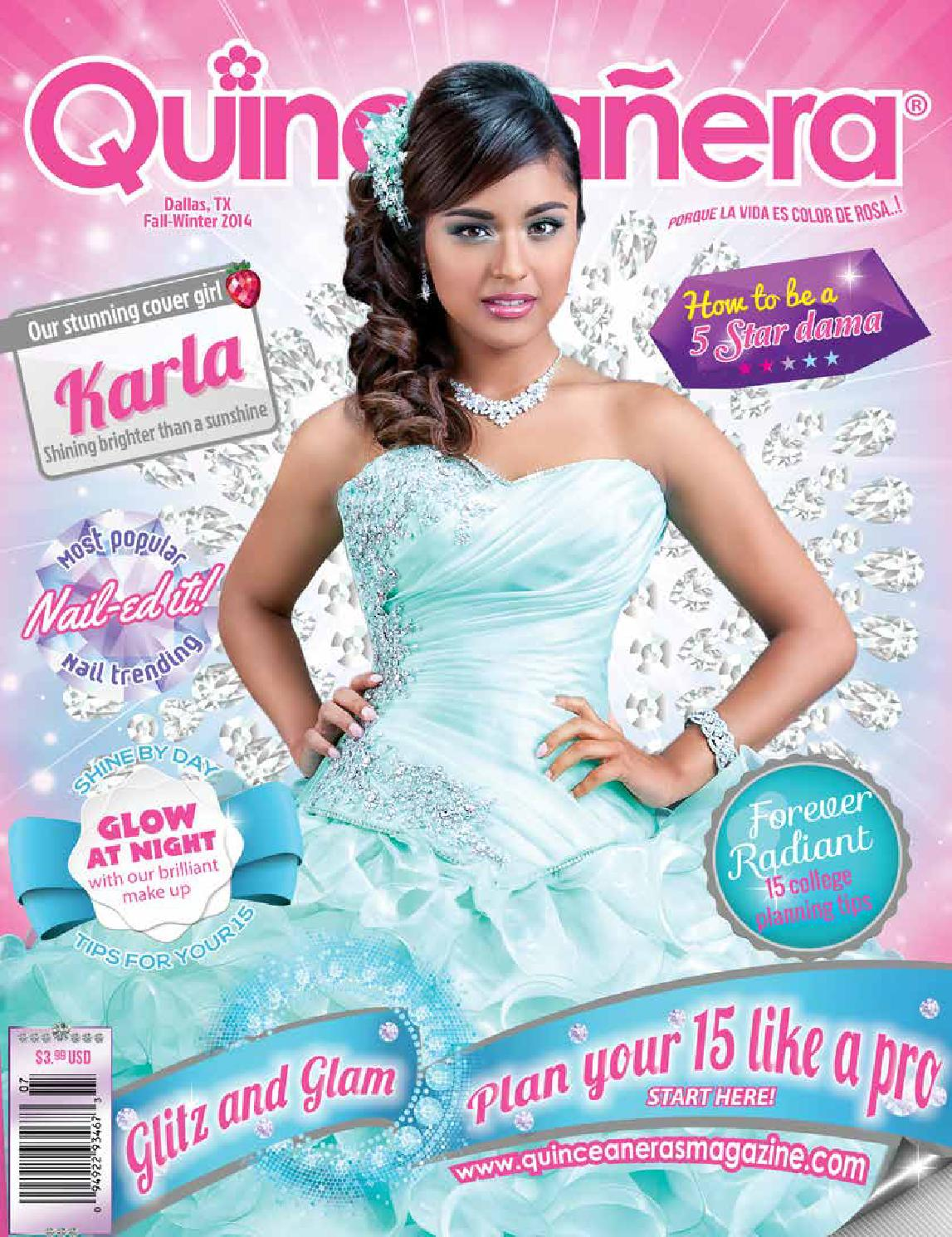 6389baf2a16 Dallas 2014 2 Quinceaneras Magazine by Texas Quinceaneras Magazine ...