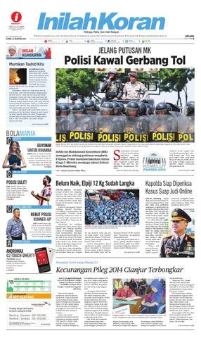 Polisi Kawal Gerbang Tol By Inilah Koran Issuu