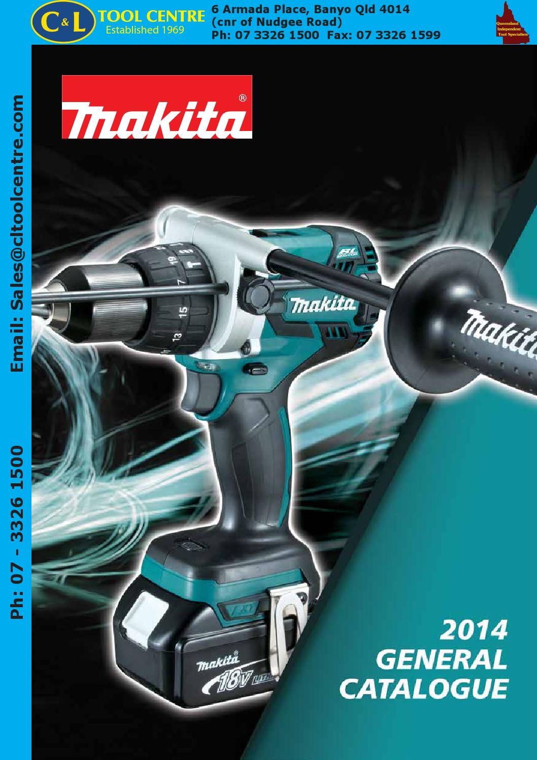 Makita General Catalogue Cl By Tool Centre Pty Ltd Issuu Blower Wiring Diagram
