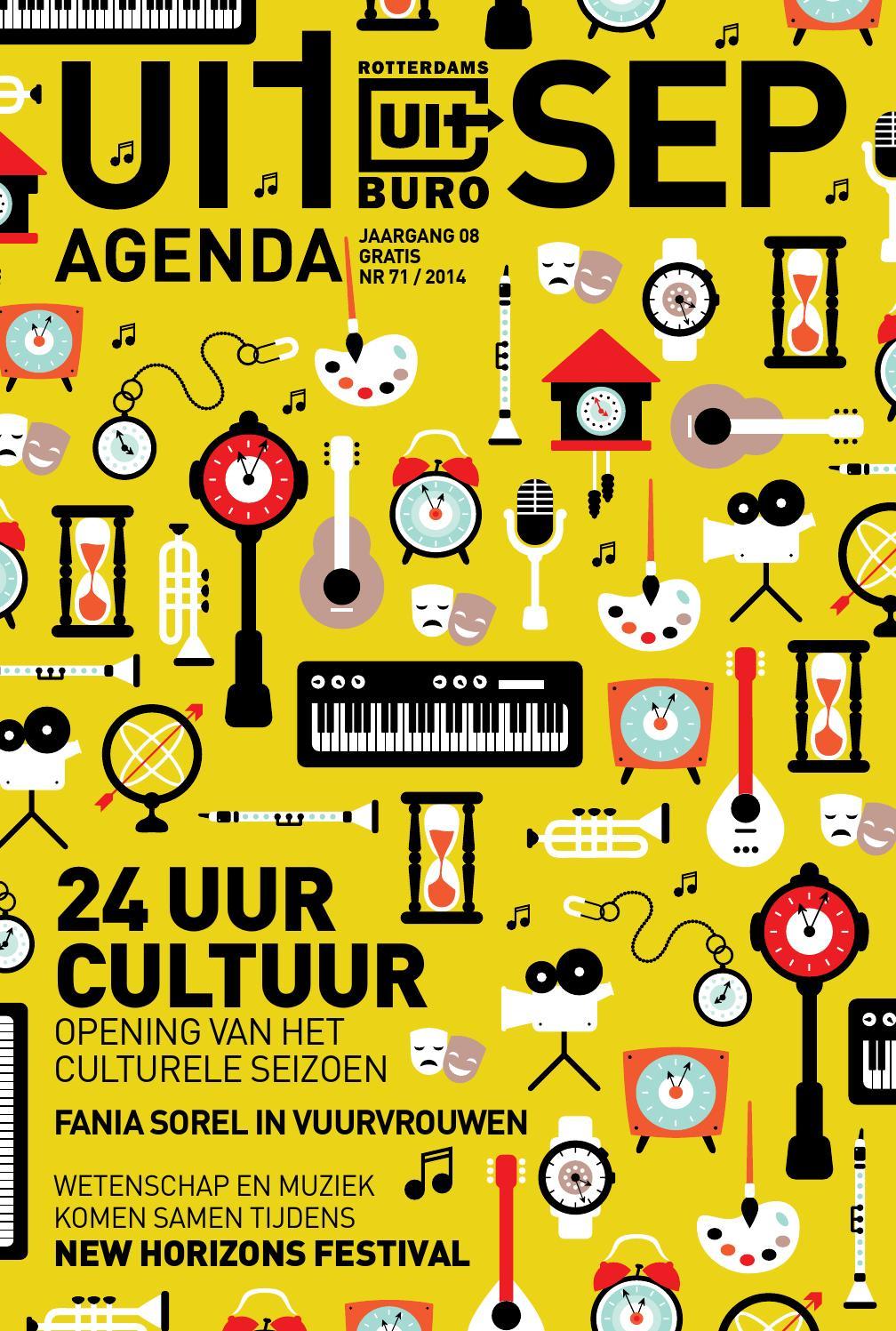 Uitagenda rotterdam september 2014 by rotterdam festivals for Uit agenda rotterdam