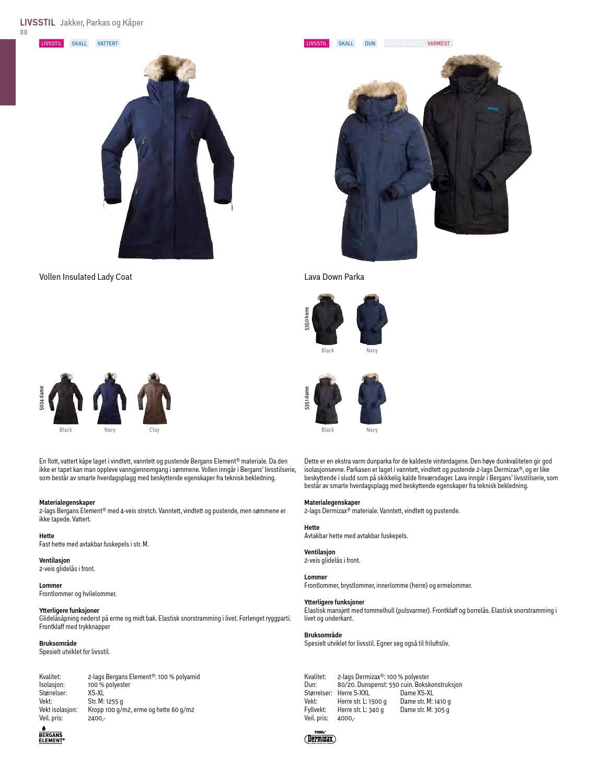 d09c0715 Bergans Produktkatalog Høst/Vinter 2014-2015 by Bergans of Norway - issuu