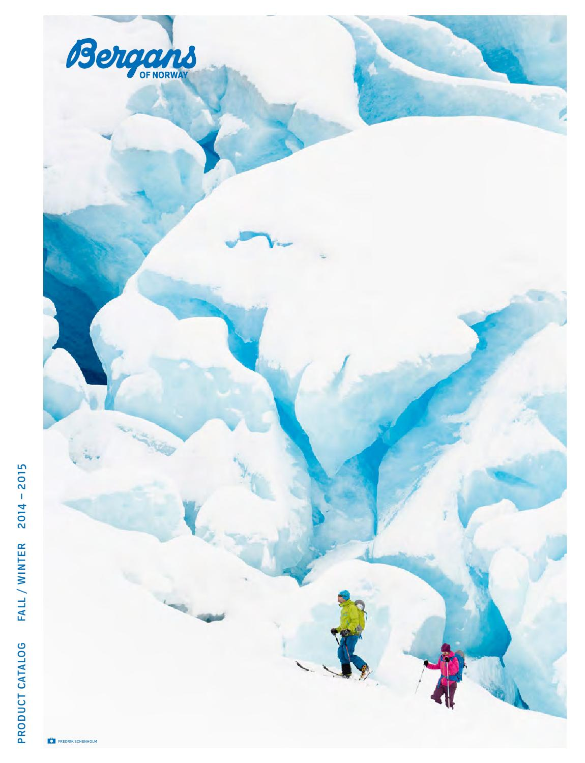 91e3f074 Bergans Product Catalog Fall/Winter 2014-2015 by Bergans of Norway ...