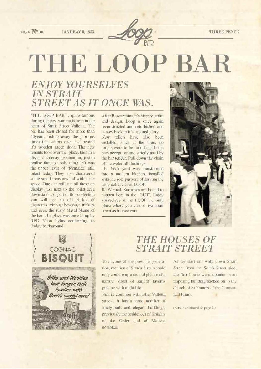 The Loop Menu