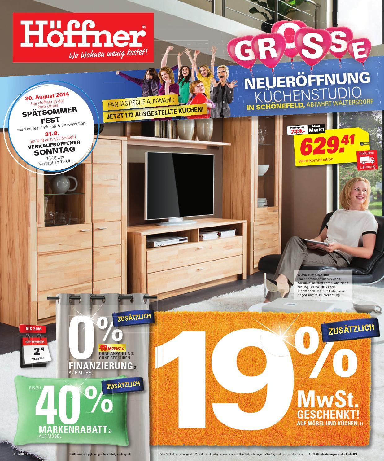 h ffner gro e neuer ffnung by berlin medien gmbh issuu. Black Bedroom Furniture Sets. Home Design Ideas