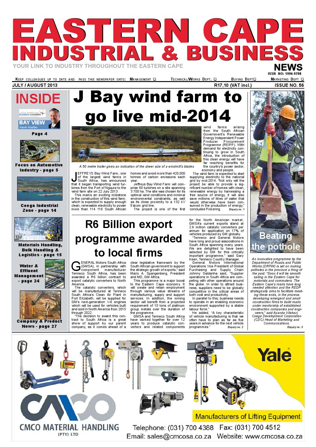 EC Industrial & Business News - Issue 56 by The Media & Events ...